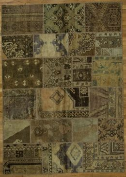 OVERDYE AND PATCHWORK RUGS