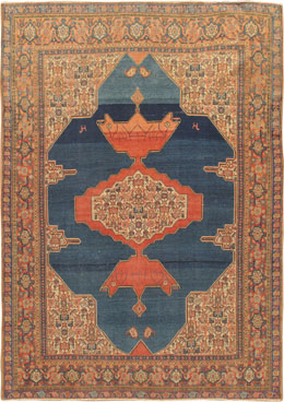 Antique Senneh Persian Rugs