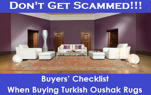 Antique & Vintage Turkish Oushak Rugs – Buyers' Checklist
